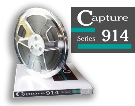 "Image of CAP914 1/4"" X1200' 7"" Plastic Reel Hinged Box"