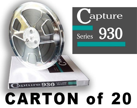 "Image of CARTON of CAP930 1/4"" X1800' 7"" Plastic Reel Hinged Box"