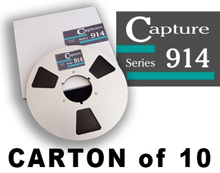 "Image of CARTON of CAP914 1/4"" X2500' 10.5"" Metal Reel Hinged Box"