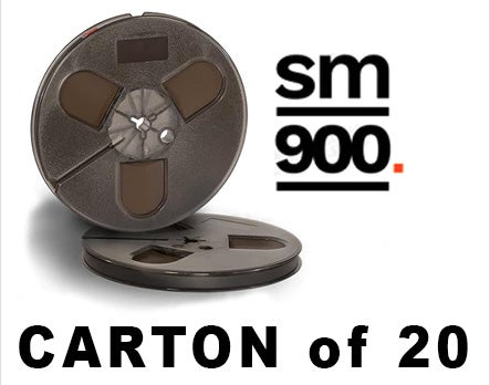 "Image of CARTON of SM900 1/4"" X1200' 7"" Plastic Reel Hinged Box"