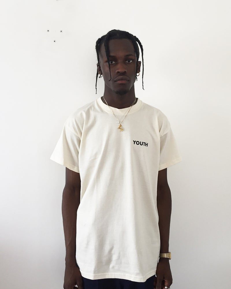 Image of Youth Club T Shirt - Cream