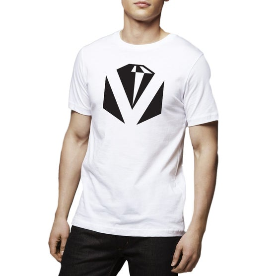 Image of Diamond White Tee