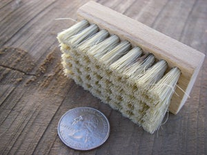Image of HOG BRISTLE BRUSH For Use With WOOD RASP & HANDSAWS FILLING / SHARPENING Made in the USA