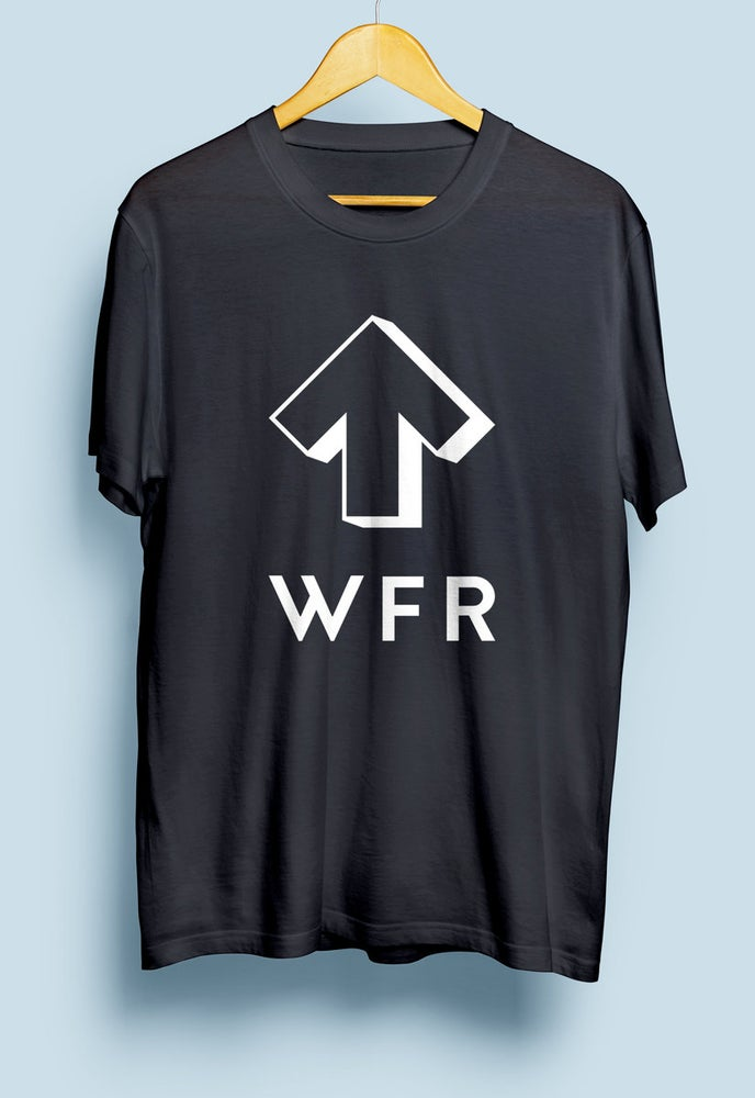 Image of White Forest Records Black T-Shirt