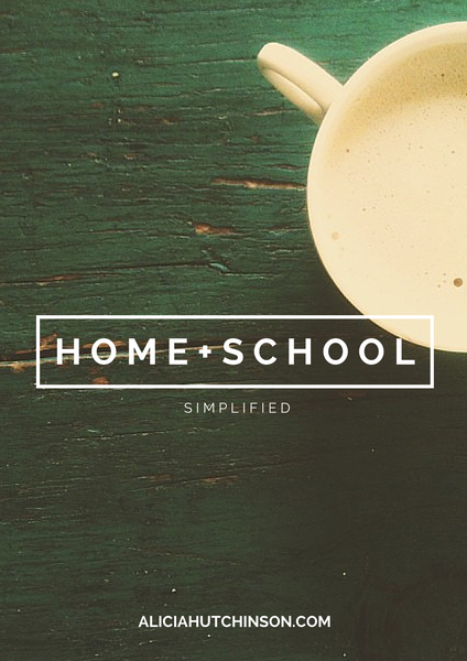 Image of HOME + SCHOOL: SIMPLIFIED