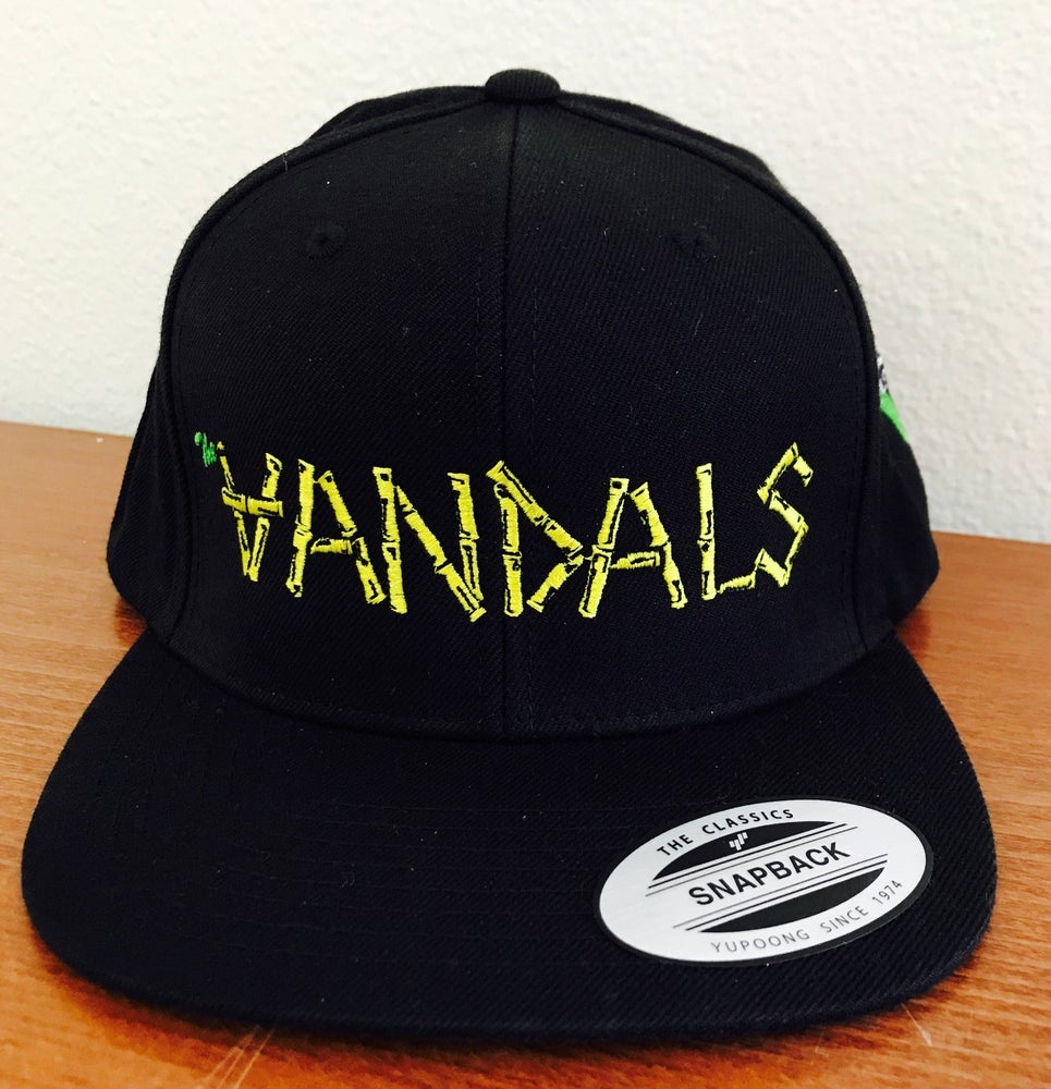 """Image of Classic """"Vandals"""" Snapback Hat with V-Gun Side Embroidery"""
