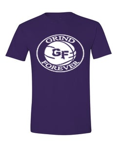 Image of EXCLUSIVE PURPLE GRINDFOREVER TEE