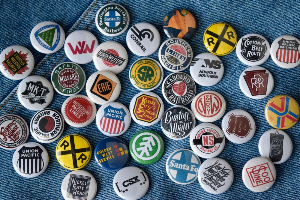 Image of Railroad Buttons
