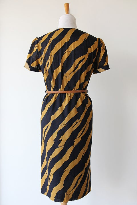 Image of SOLD Earn Your Stripes Dress