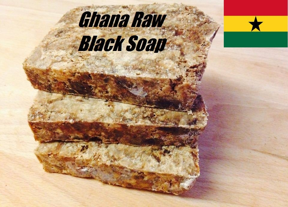 Image of Raw Black Soap (Ghana) 2 lbs
