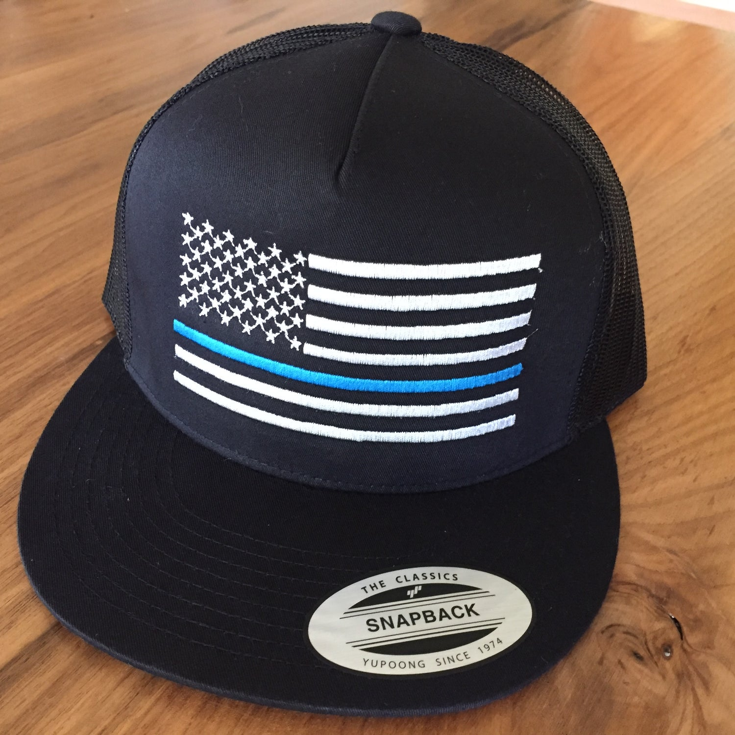 Image of Thin Blue Line Support Hat cb17f7b6c92