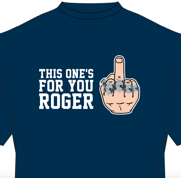 Image of This One's For You Roger - Tee Shirt
