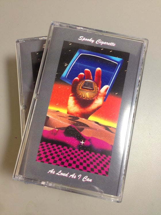 Image of 'As Loud As I Can' on Cassette Tape