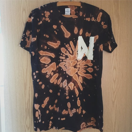 Image of Bleach-Dyed T-Shirt  **FREE UK SHIPPING**