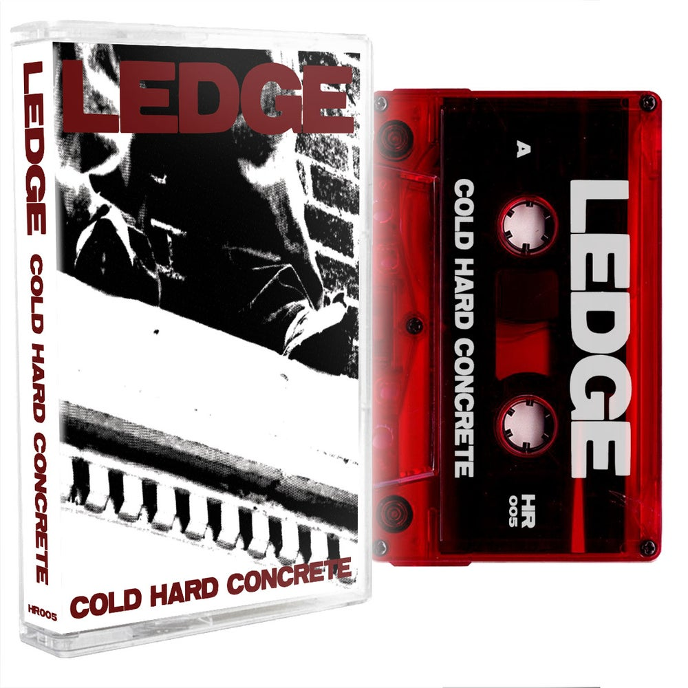 Image of LEDGE - Cold Hard Concrete Cassette