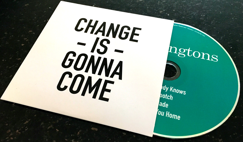 Image of CHANGE IS GONNA COME - EP (CD)