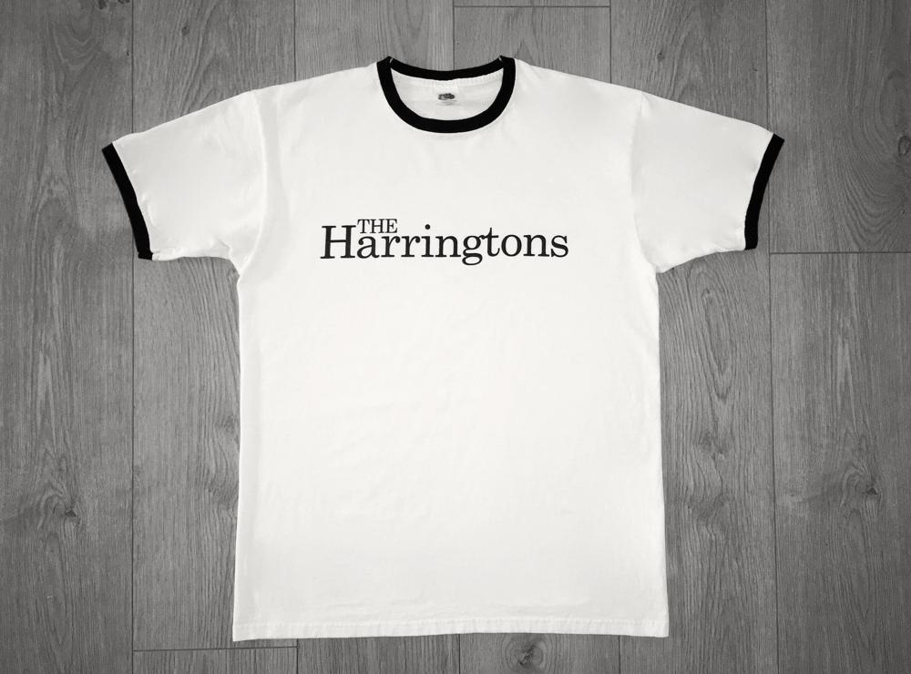 Image of The Harringtons Ringer - White