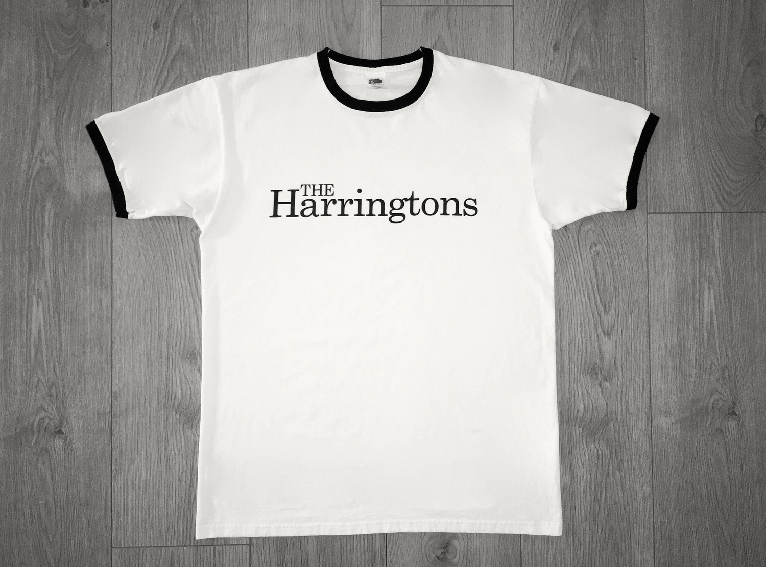 Image of The Harringtons Ringer - White
