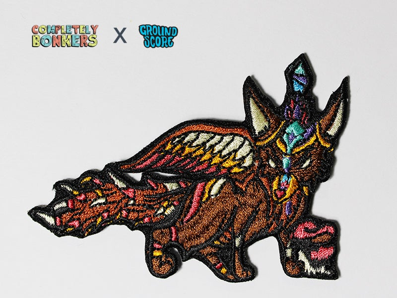 Image of Vulpes Patch (Brown) - Mythical Creature Series