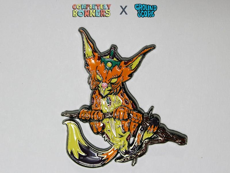 Nekomata 3D Pin (LE 200) - Mythical Creatures Series