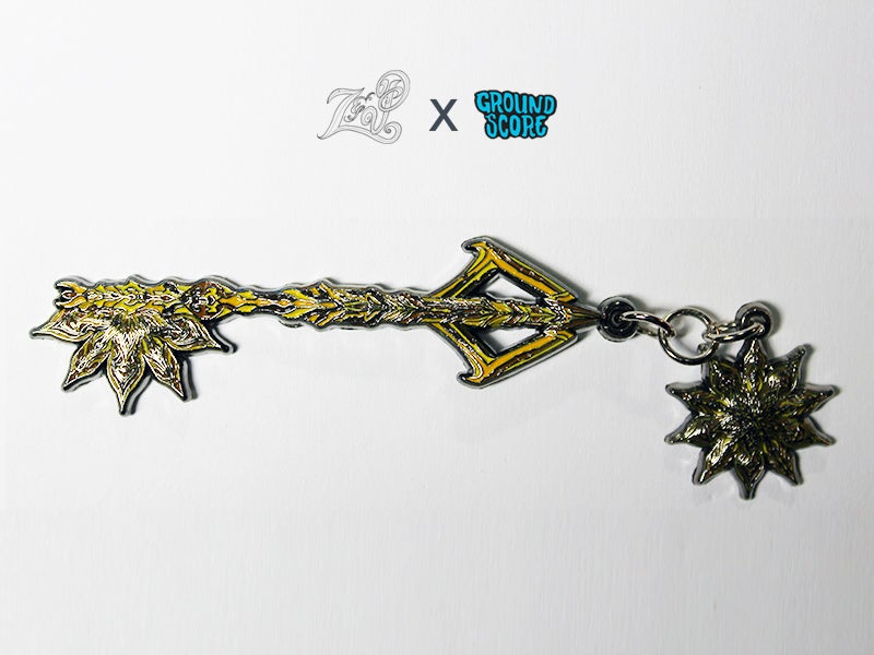 Image of Z&P - Mandala Key 3D Pin