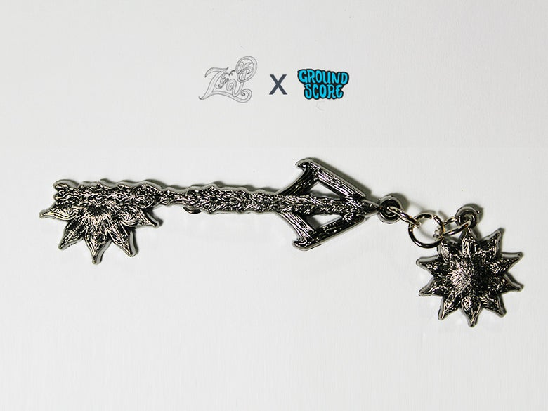 Image of Z&P - Mandala Key Pin (LE 25)