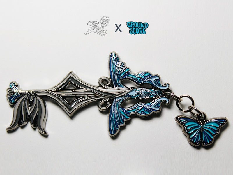 Image of Z&P - Butterfly Beings 3D Pin (LE 200)