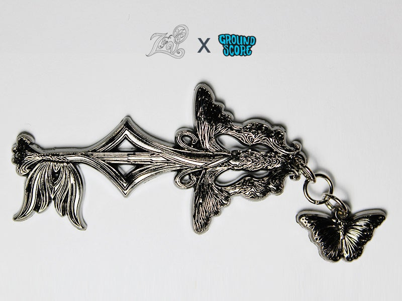 Image of Z&P - Butterfly Beings 3D Pin (LE 25)