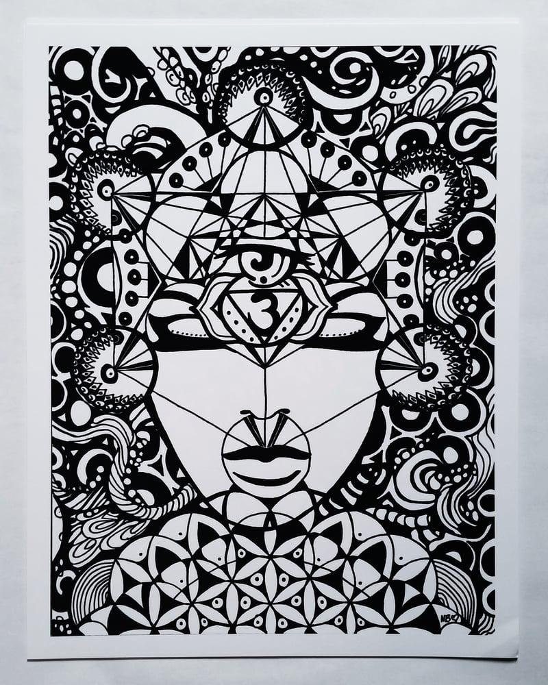 "Image of ""Ajna"" Third Eye Chakra"