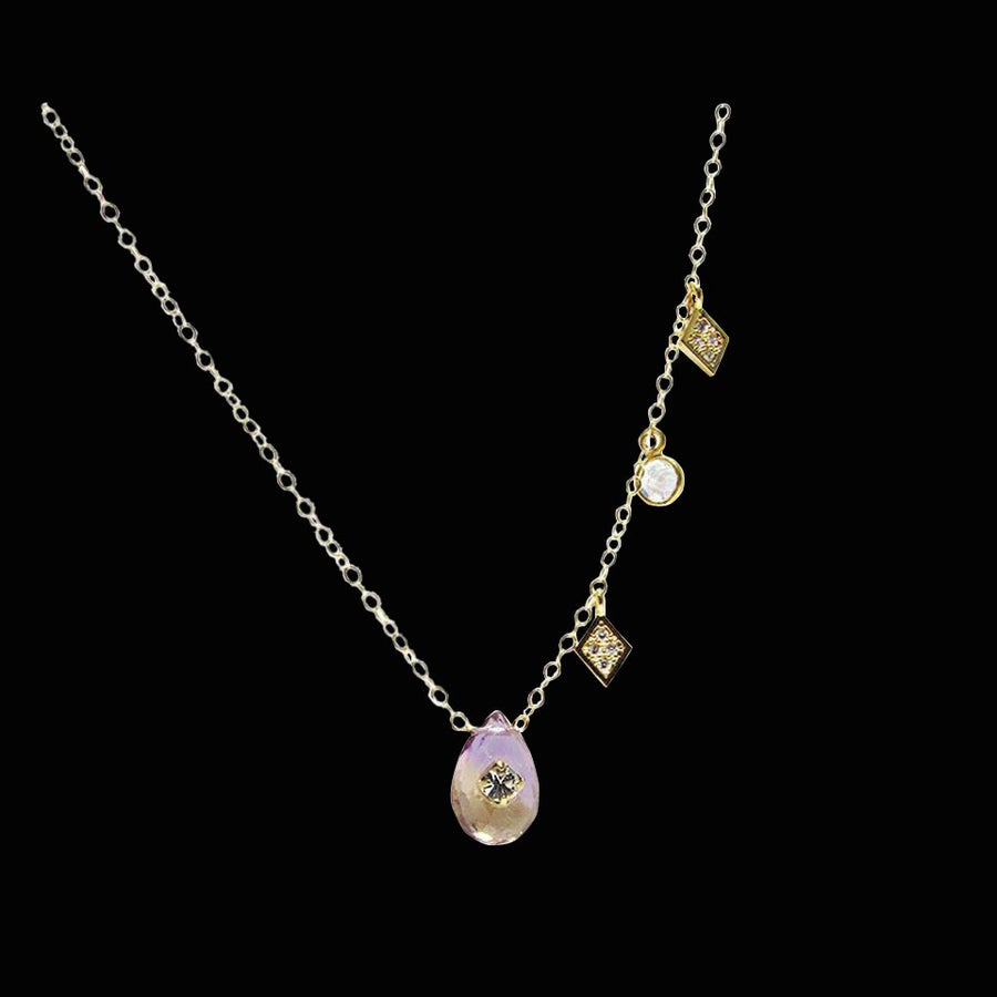 Image of Ametrine Constellation Necklace