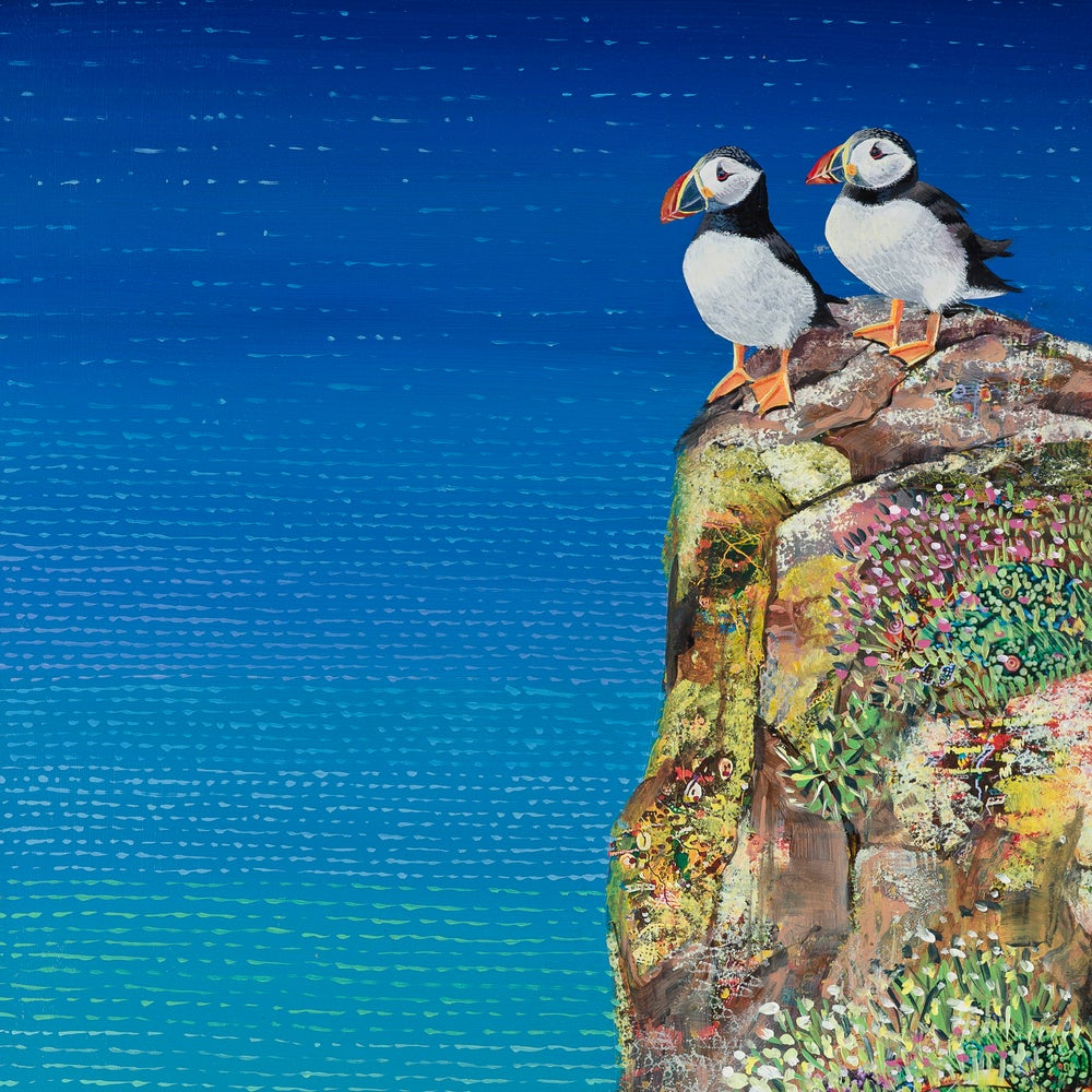 Image of Puffin small giclee print