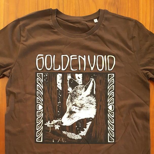 Image of Golden Void Fox T-Shirt - Brown