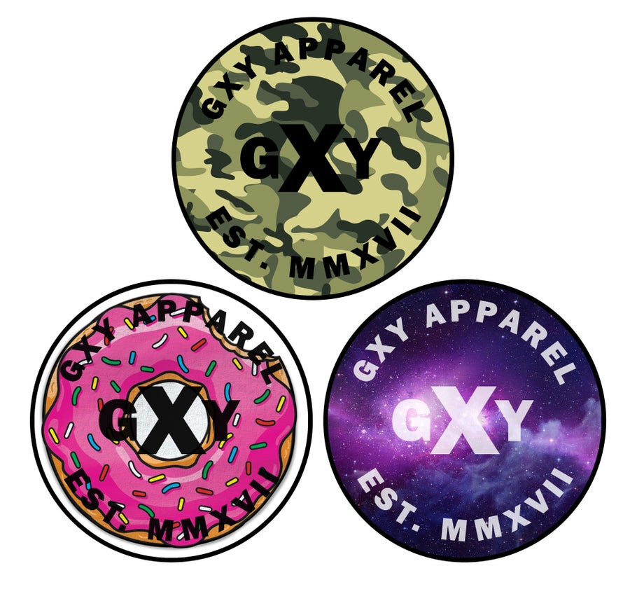 Image of GXY Sticker Packs