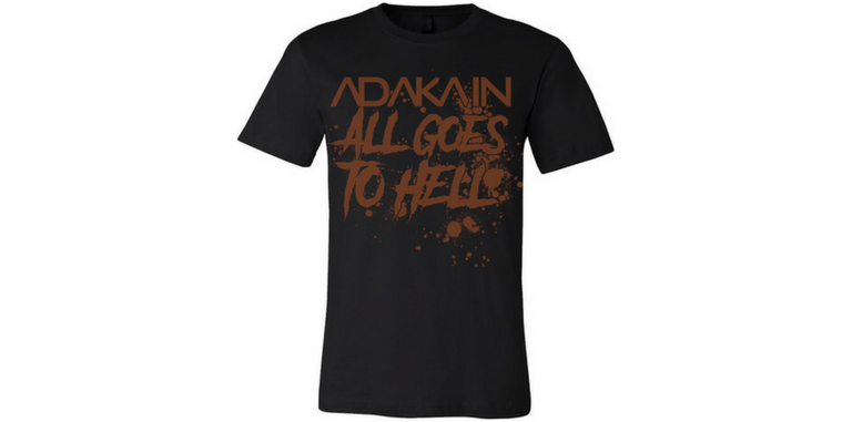 Image of 'All Goes to Hell' tee