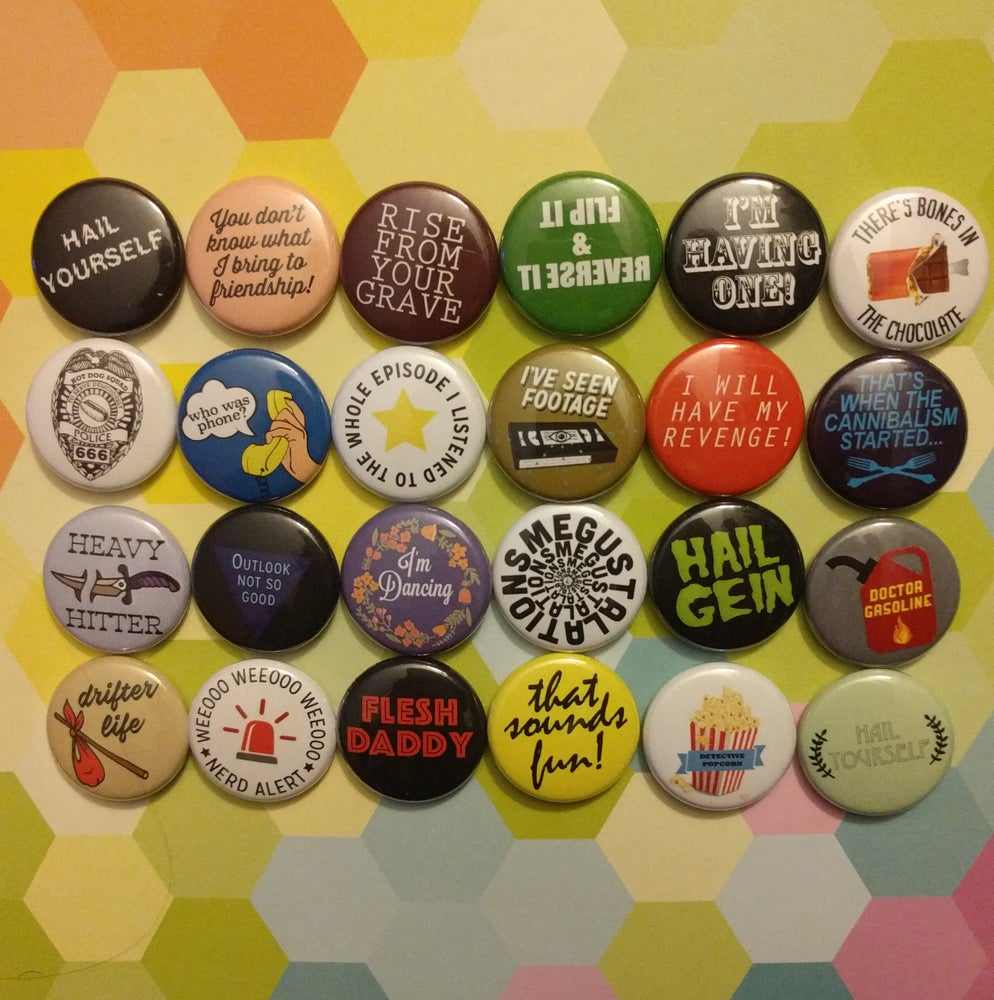 Image of Original Set of LPOTL Buttons - may take 2-4 weeks to ship