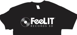 Image of FeeLit Records SD T-Shirt