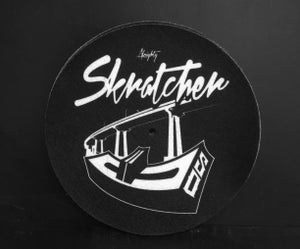 "Image of Skratcher SD 7"" Slipmat"