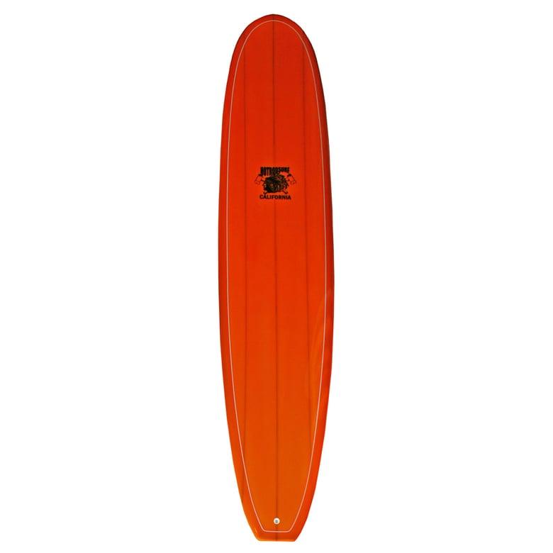 Image of Cosmic Flyer Surfboard by HOT ROD SURF ®  – Fire Opal Orange