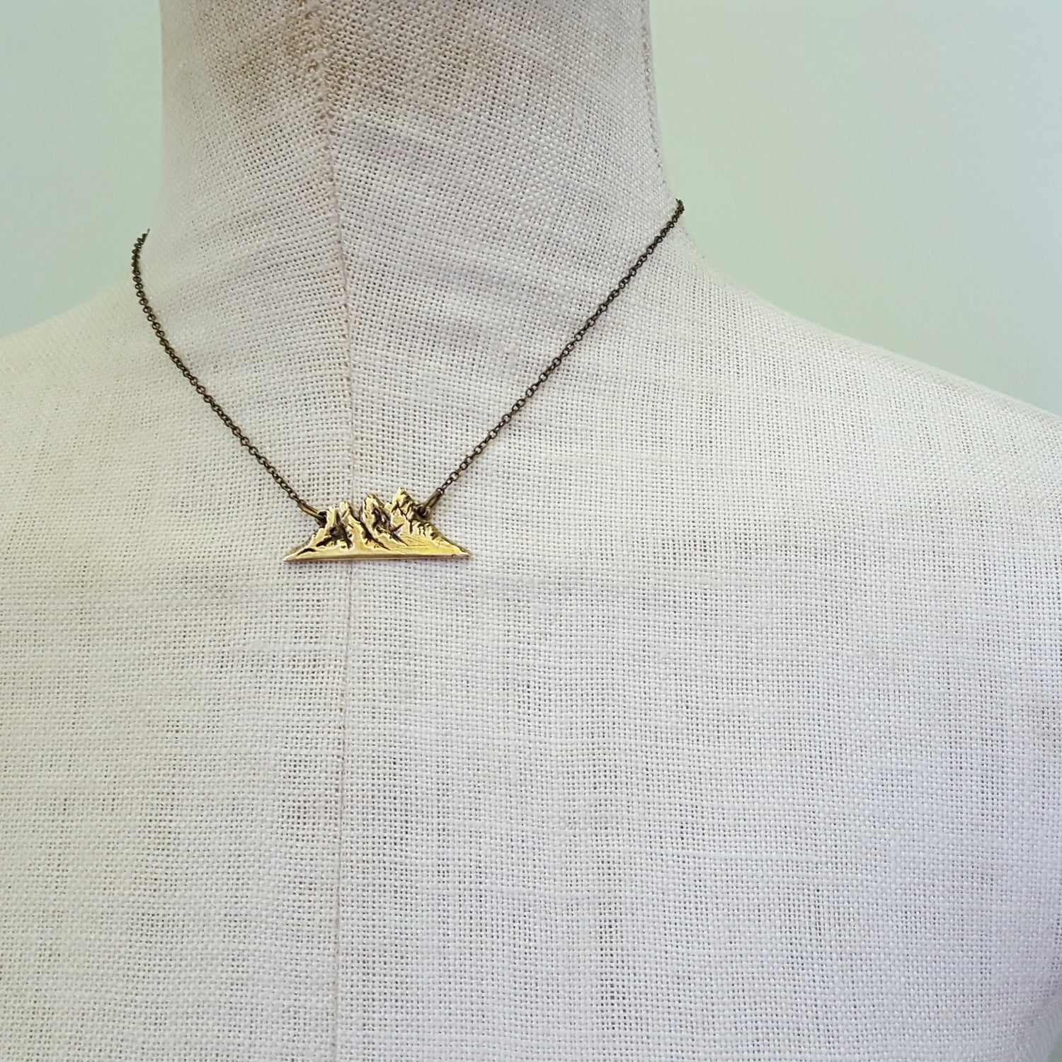Image of Three Sisters Mountain Necklace