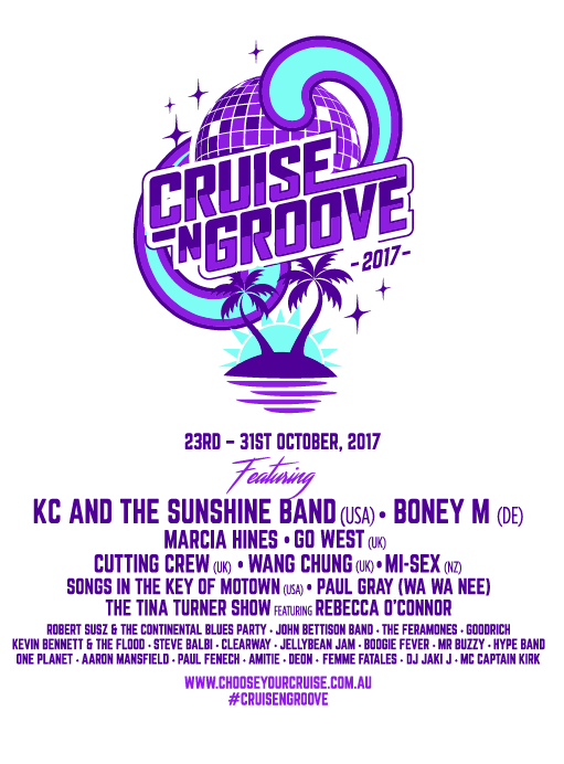 Image of Limited Edition Cruise N Groove 2017 T-Shirt
