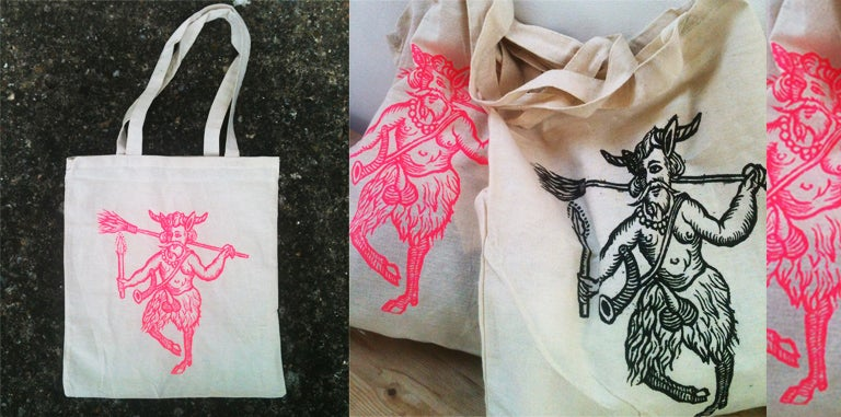 Image of Puck Tote Bag