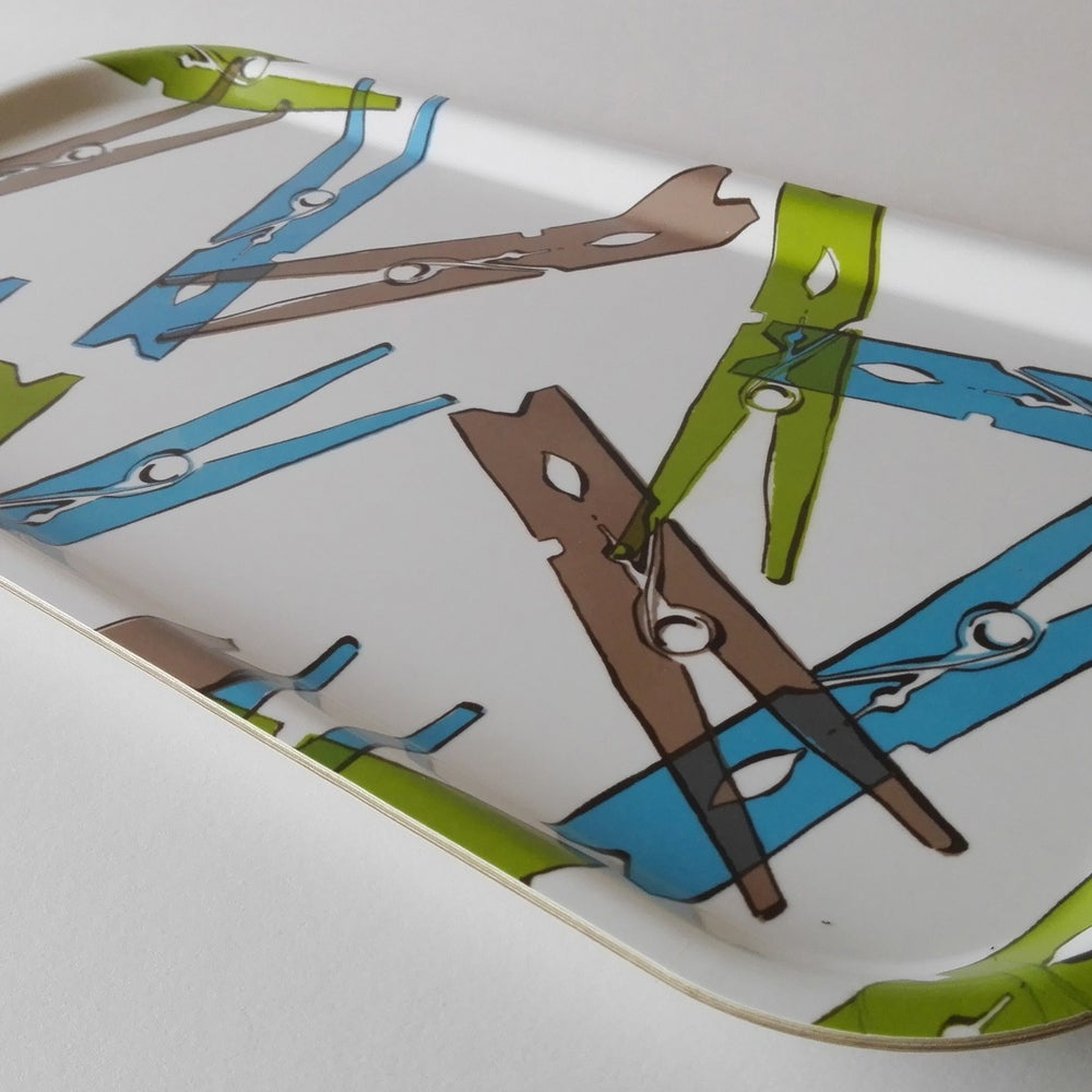 Image of CLOTHESPIN tray