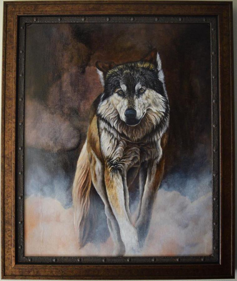 Image of Wolf I am, El Lobo. [ Archival Limited Edition of 25 ]
