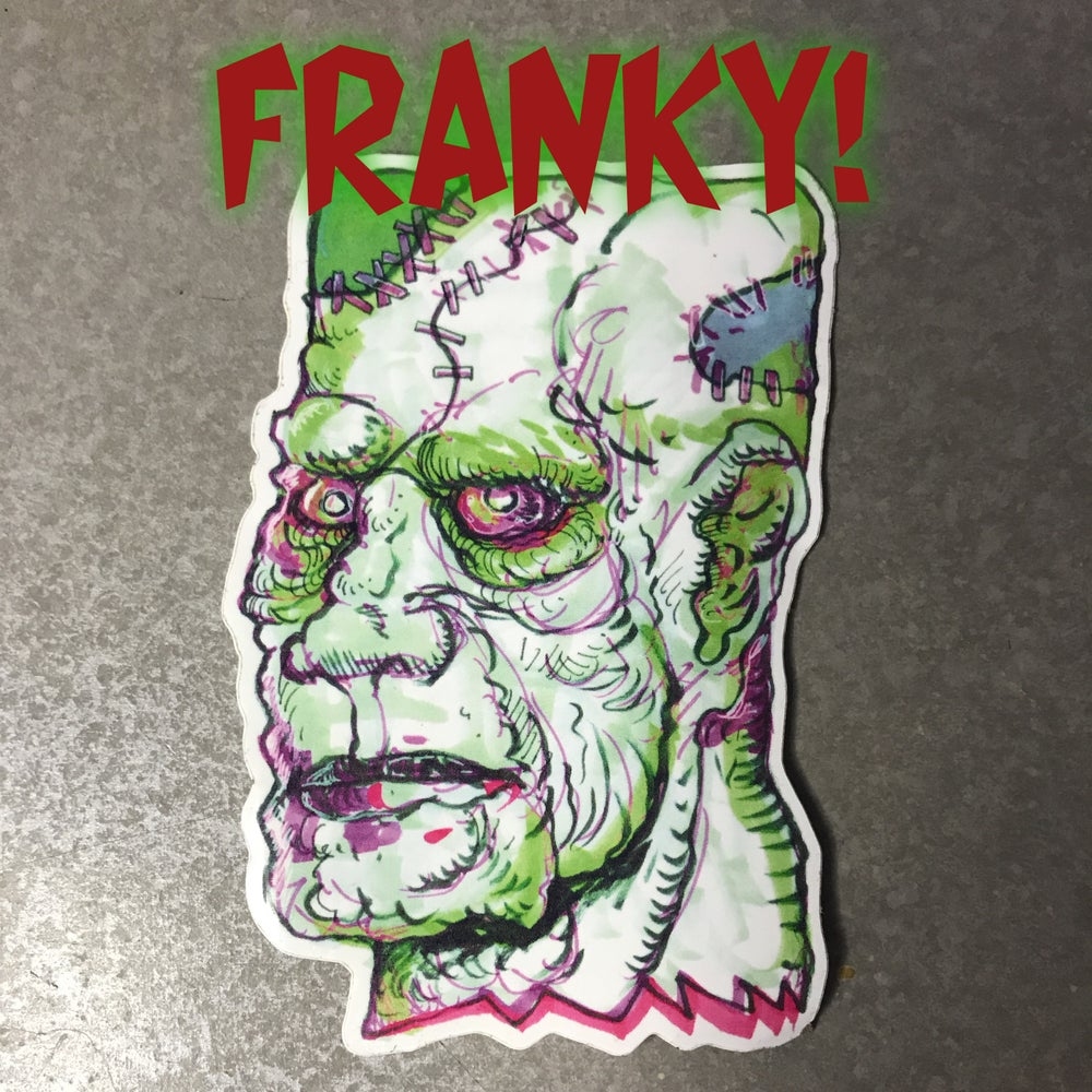 Image of FRANKY STICKER