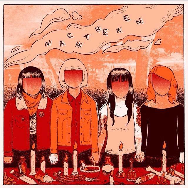 """Image of NACHTHEXEN - 10"""" EP"""