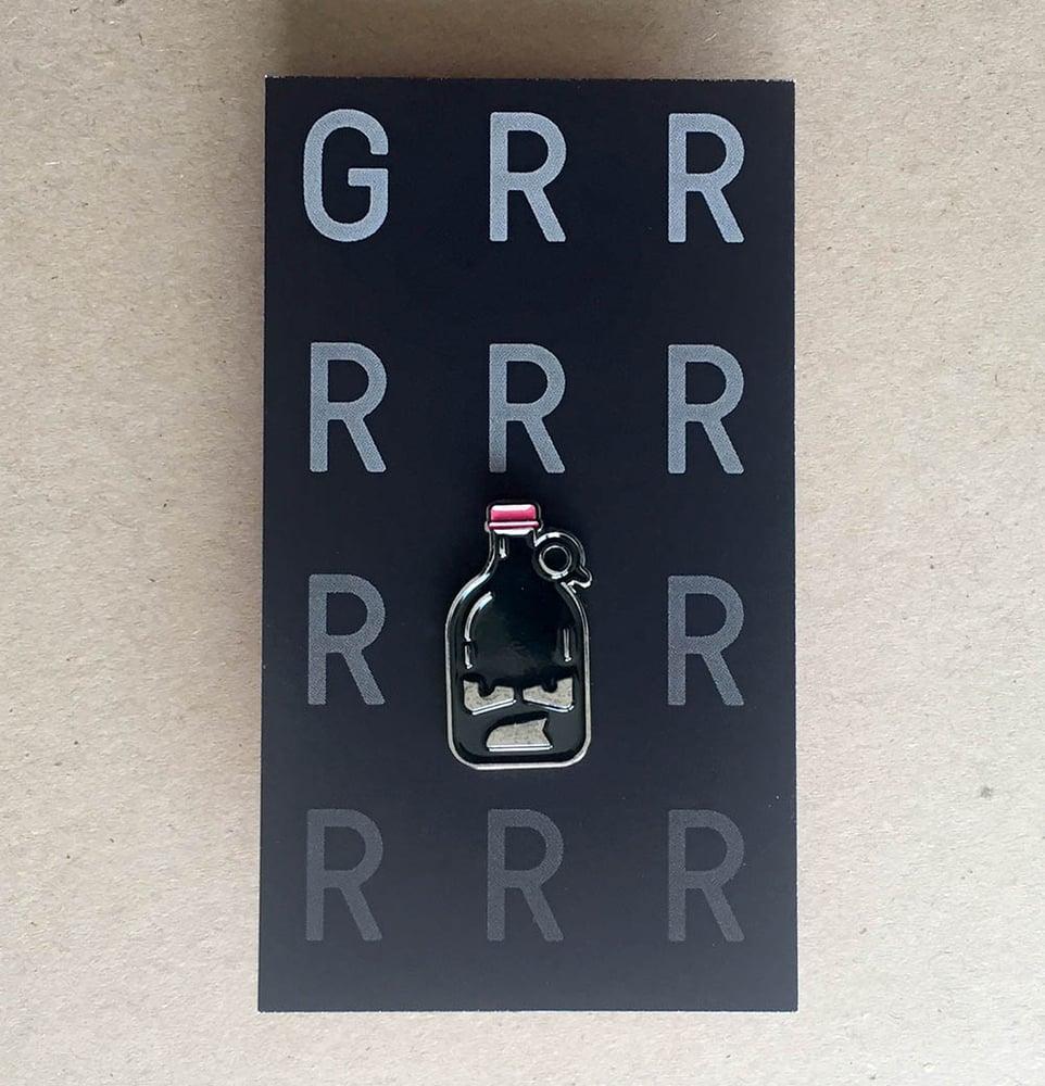 Image of Grrrrrowler  Enamel Pin