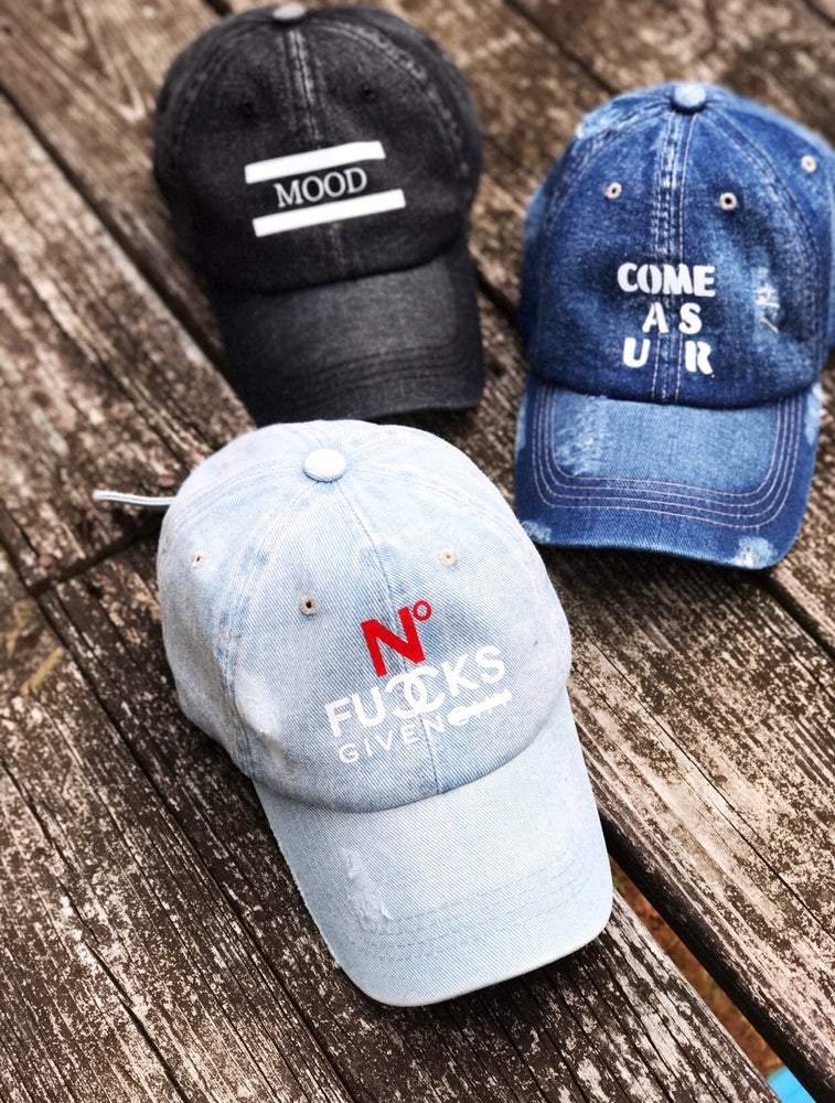 Image of Distressed Dad Hats