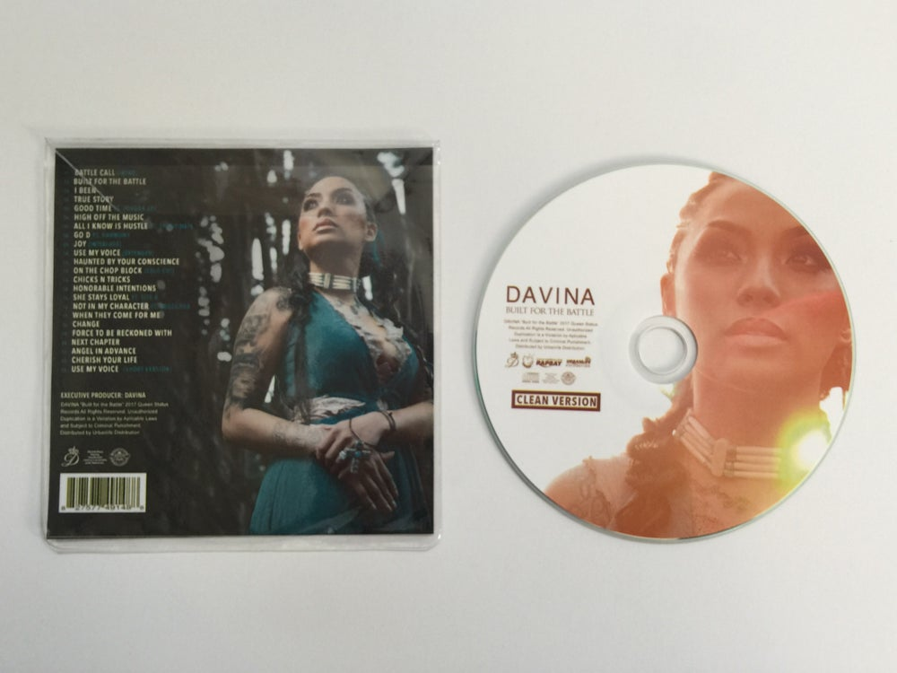 "Image of ""Built For The Battle"" CLEAN VERSION Disc Only/No Artwork"