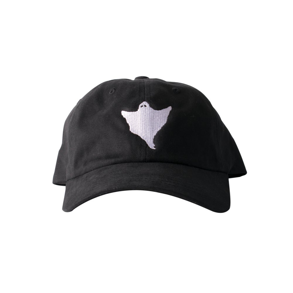 Image of Orbs Ghost Hat - Black/White