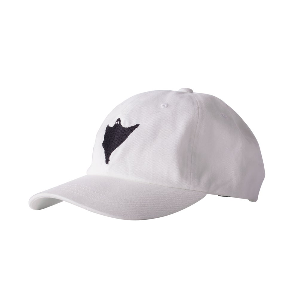 Image of Orbs Ghost Hat - White/Black